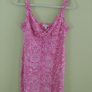 Charter Club paisley print dress